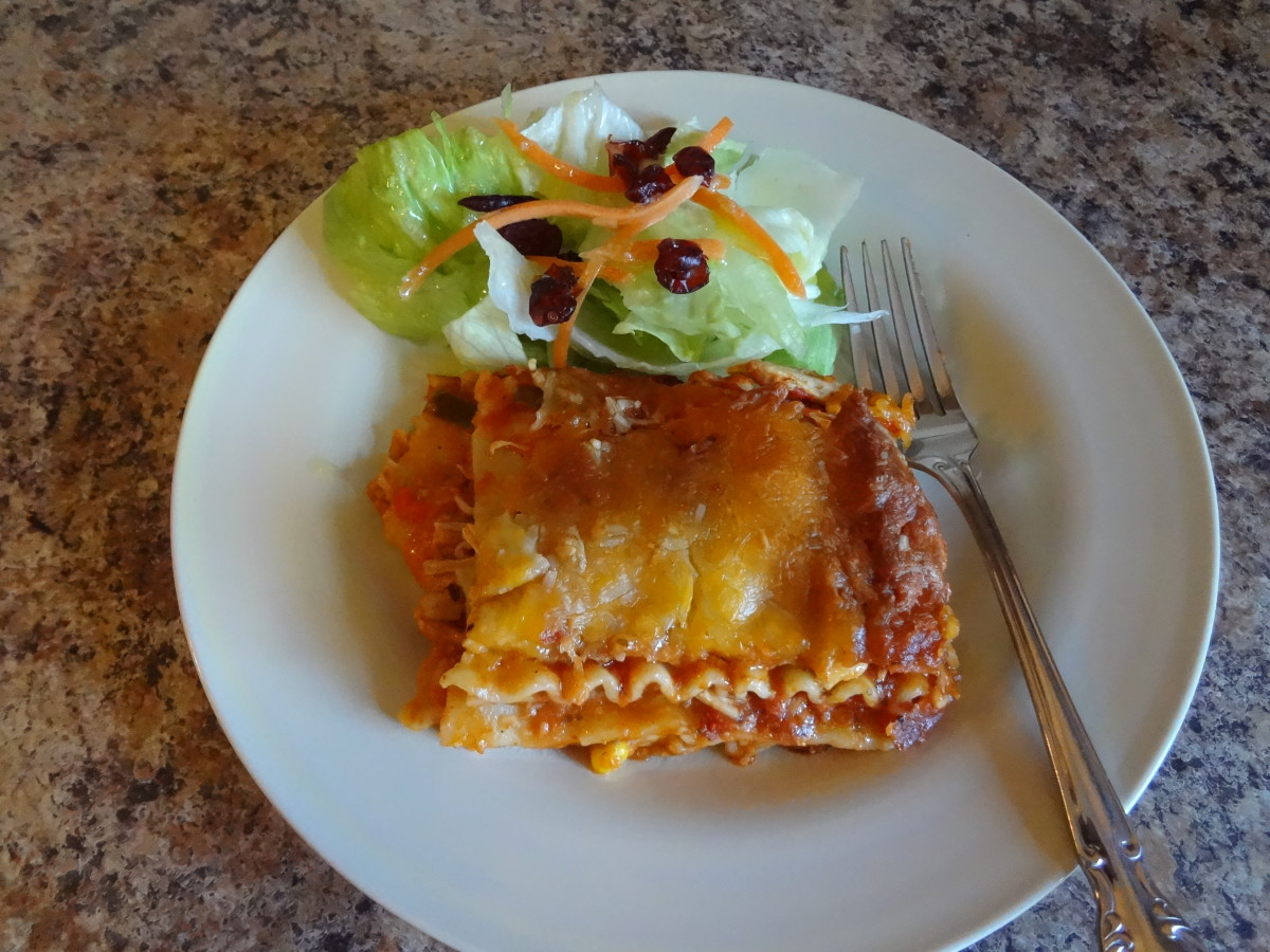Sweet and Spicy Chicken Lasagna Recipe