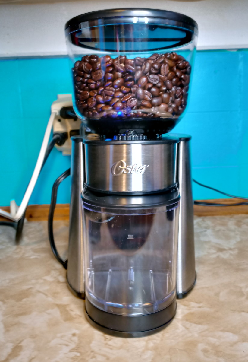 Review of the Oster Coffee Burr Mill