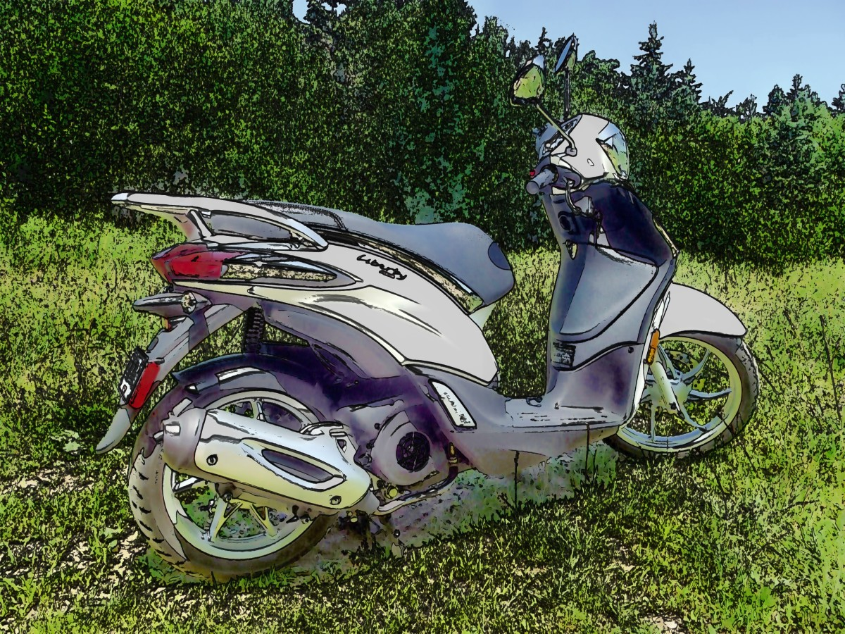 Review of the Piaggio Liberty 150