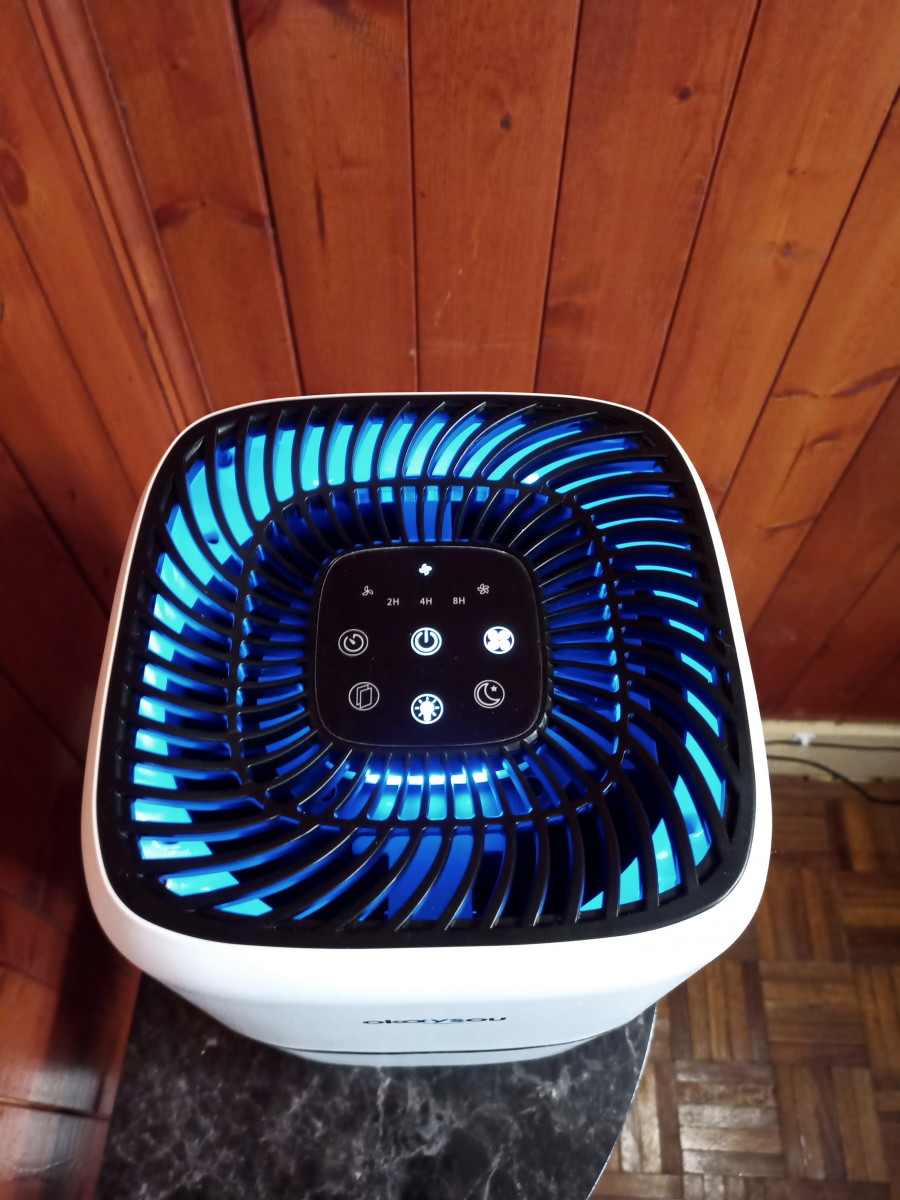 Review of the Okaysou Airmic4s Medical Grade Air Purifier