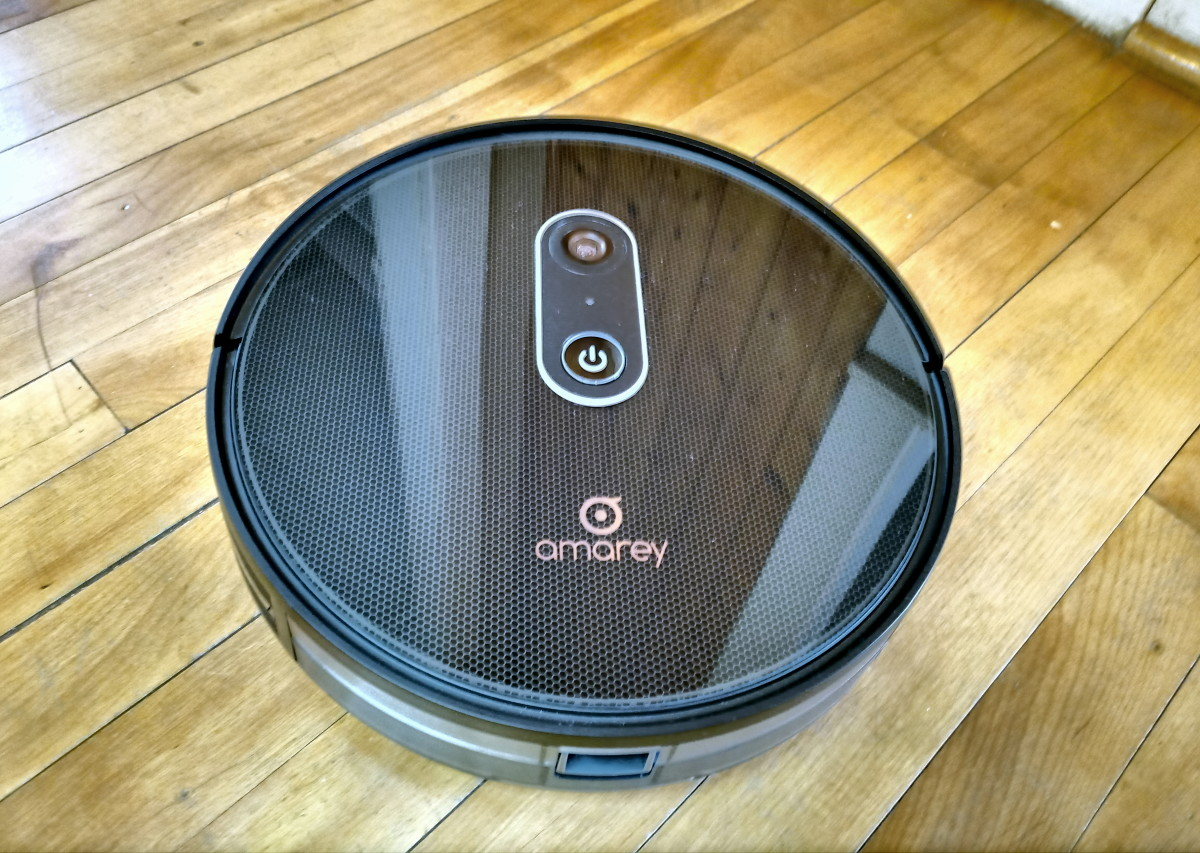 Review of the Amarey A980 Robotic Vacuum Cleaner