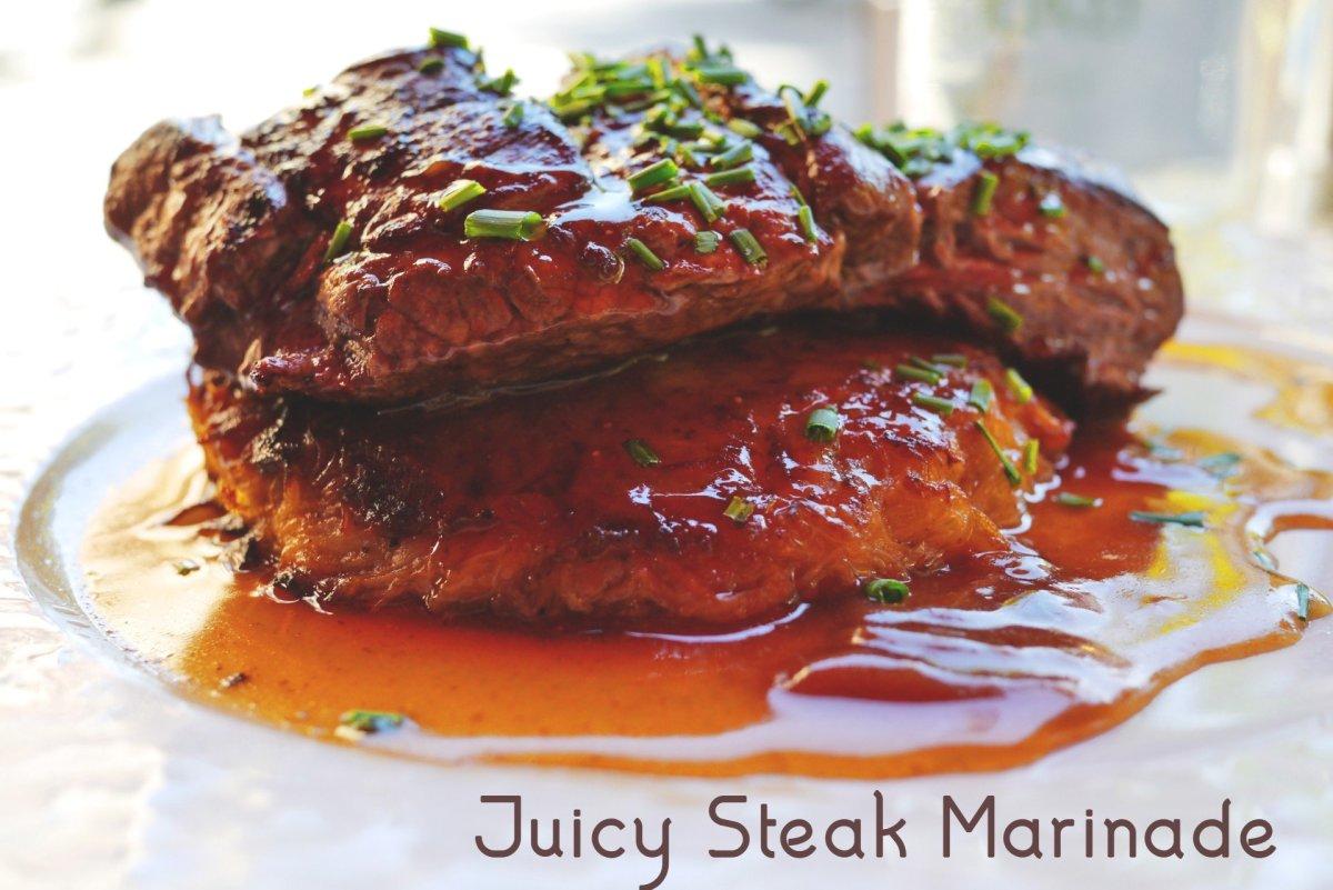 Juicy steak marinade