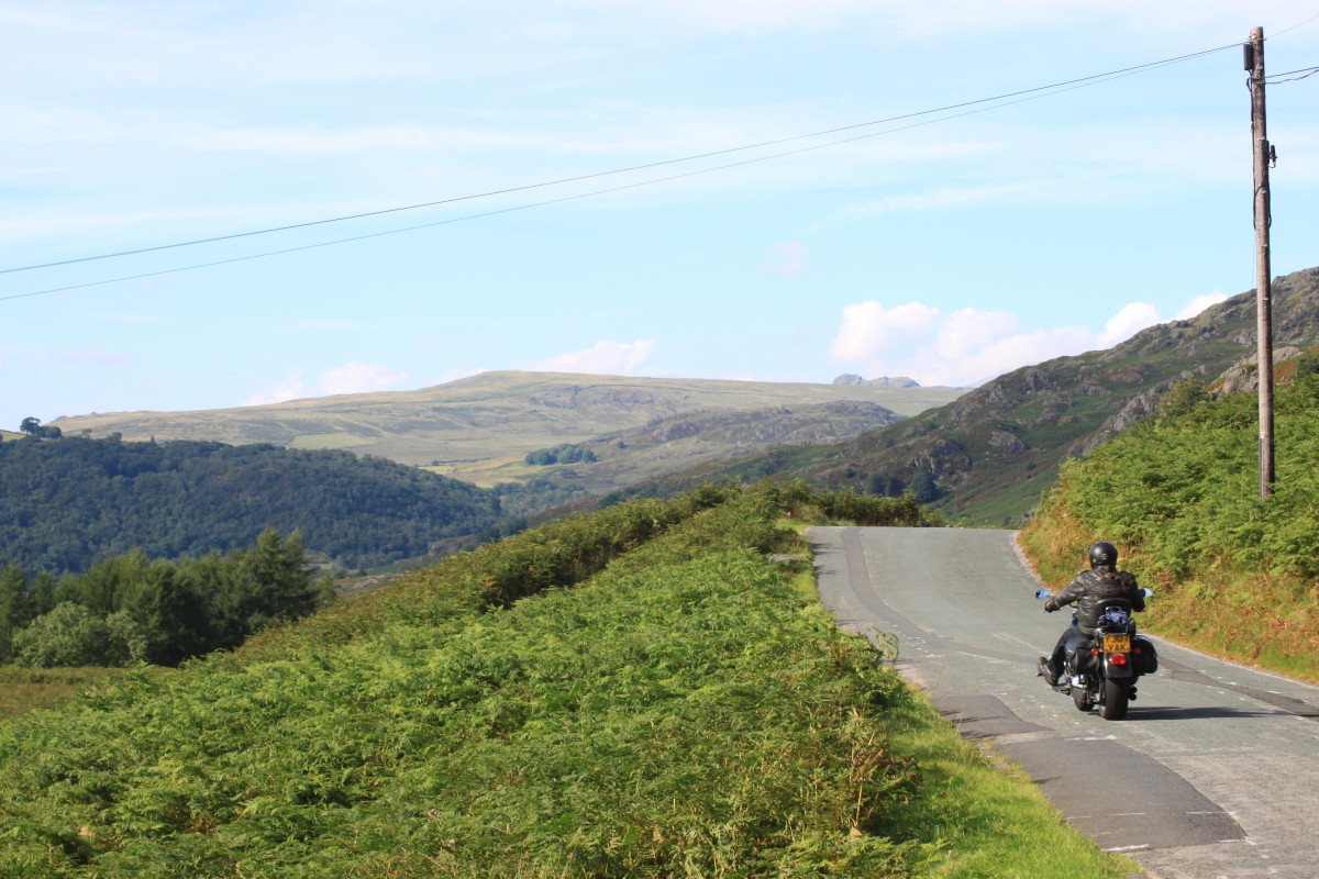 The mountain scenary of the Lake District has some fantastic cycling climbs