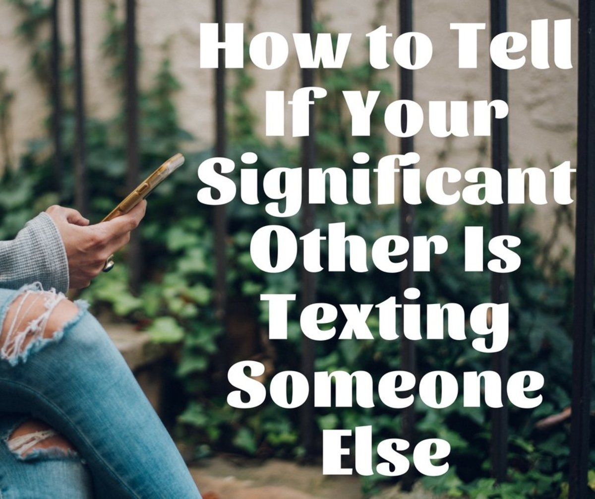 Find out whether you should be concerned about who your boyfriend or girlfriend is texting.