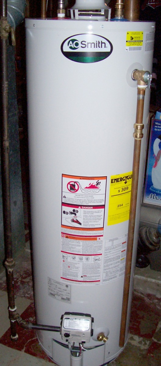 New Hot Water Heater Photo
