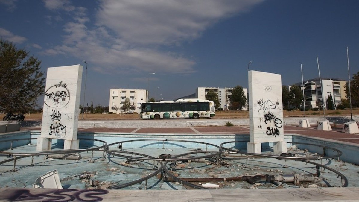 Abandoned 2004 Olympic venue