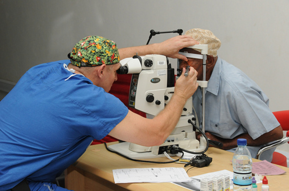 Testing for eye disease