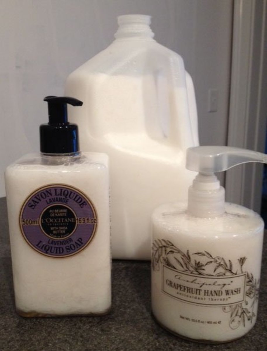 How to Save Money by Making Your Own Liquid Hand Soap