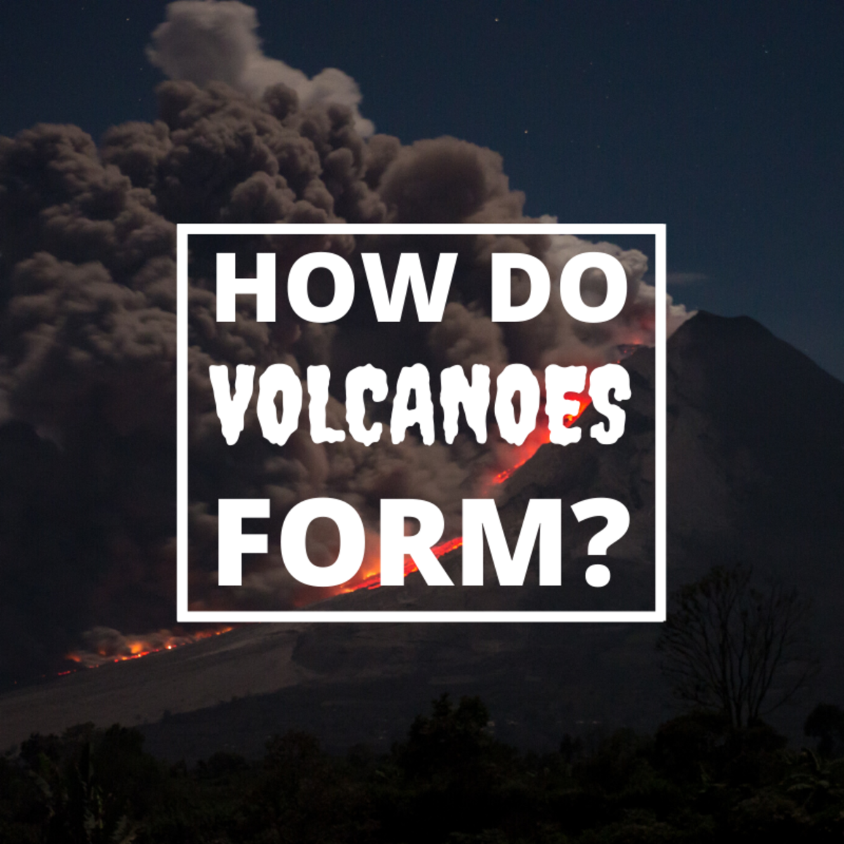 How Does a Volcano Form?