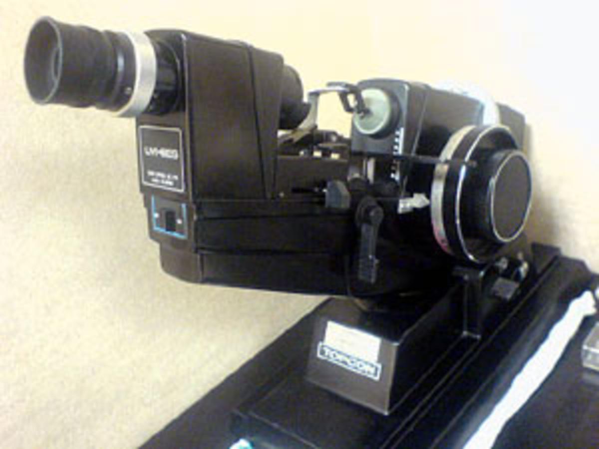 Also called a lensmeter