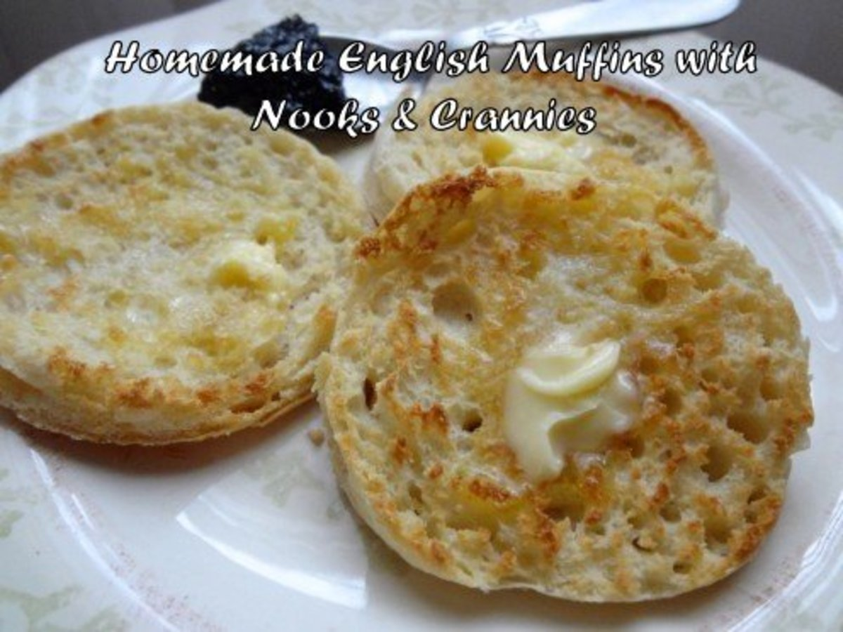 Learn how to make homemade English muffins with plenty of nooks and crannies!