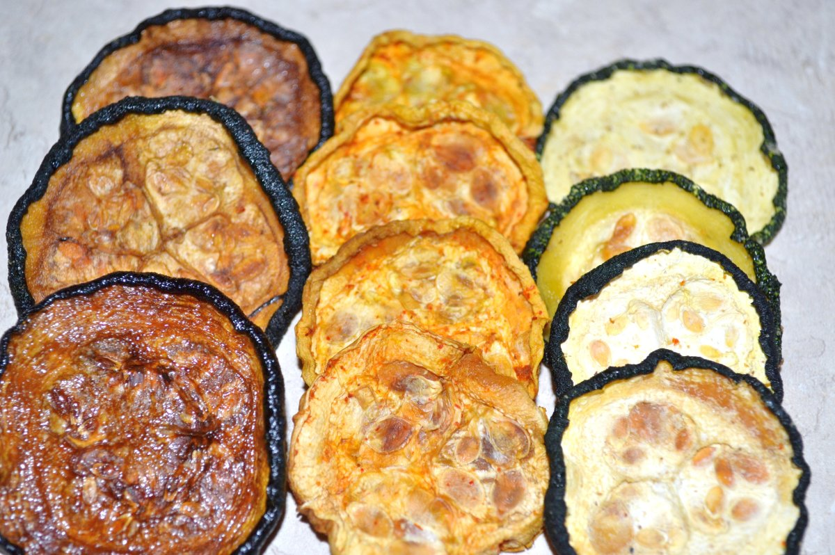 Dehydrated Zucchini Chips-Delicious and Nutritious