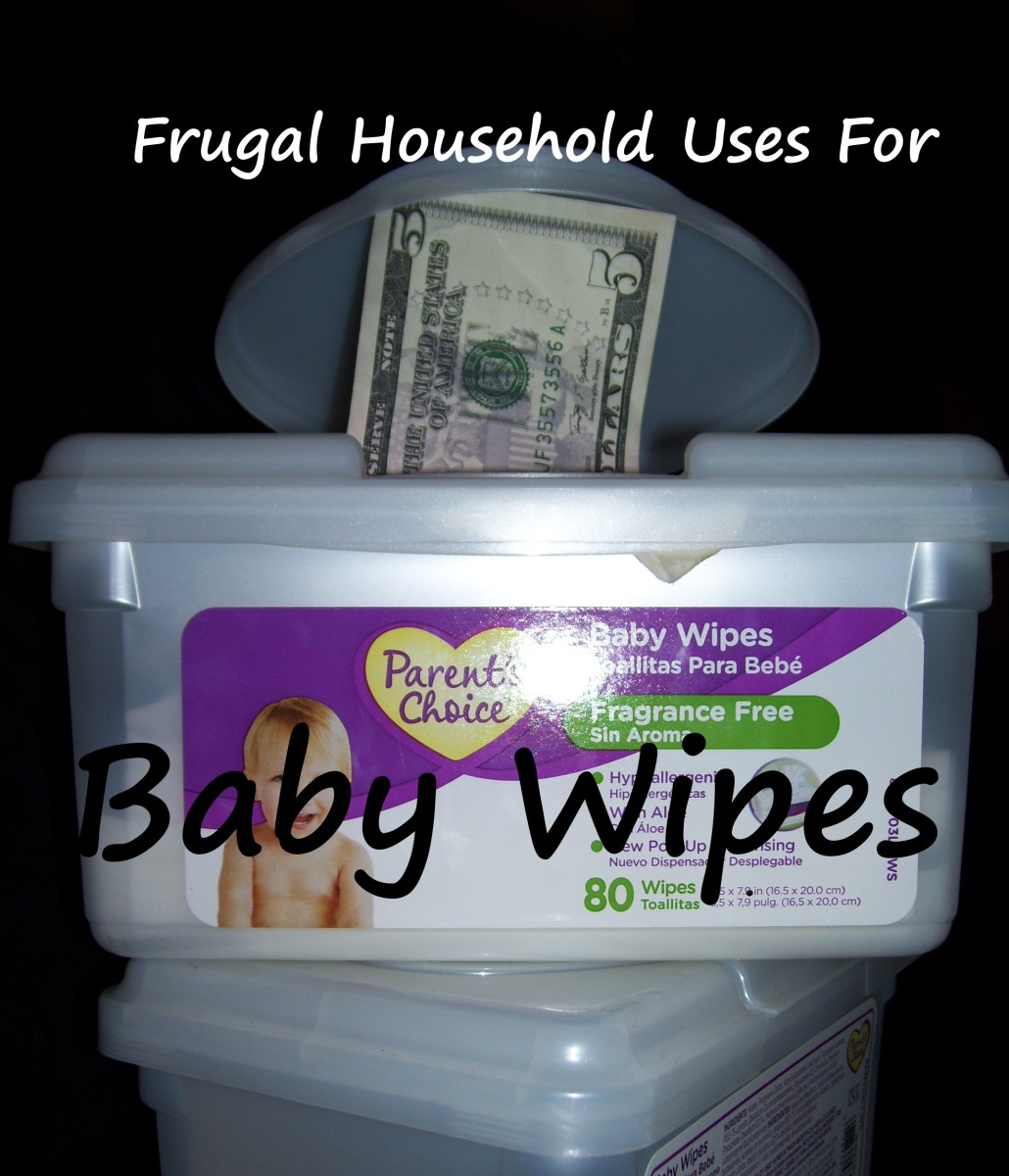 Household Uses For Storebought And Homemade Baby Wipes