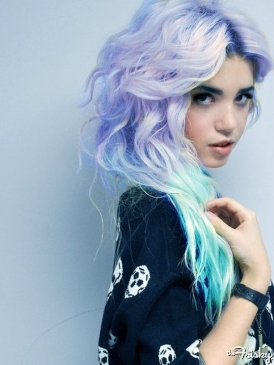 Cool How To Dye Your Hair A Pastel Color And What Products And Brands Hairstyle Inspiration Daily Dogsangcom