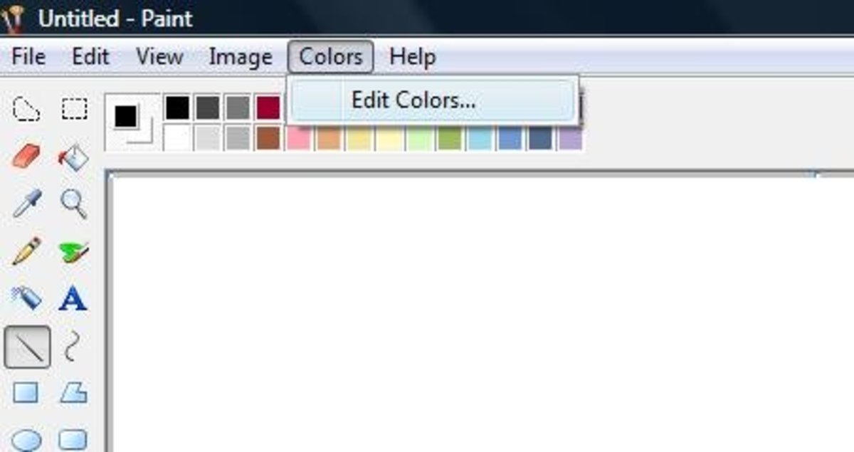 How to Create Simple Borders Using MS Paint