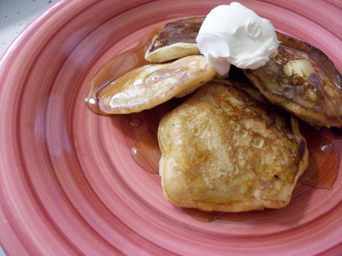 Easy Diabetic Breakfast: Apple Drop Scones
