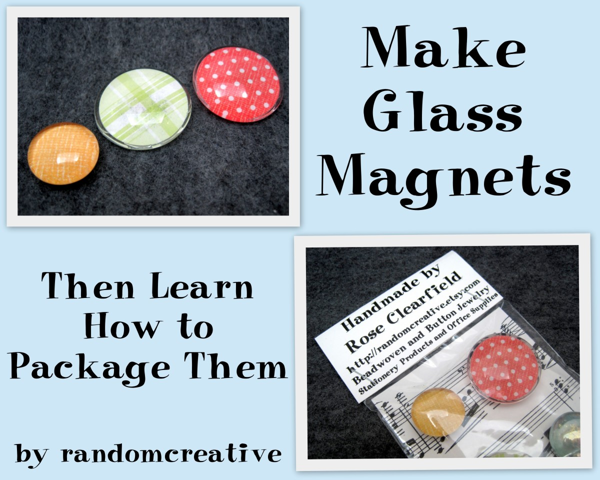 How to make glass magnets feltmagnet for Where to buy magnets for crafts