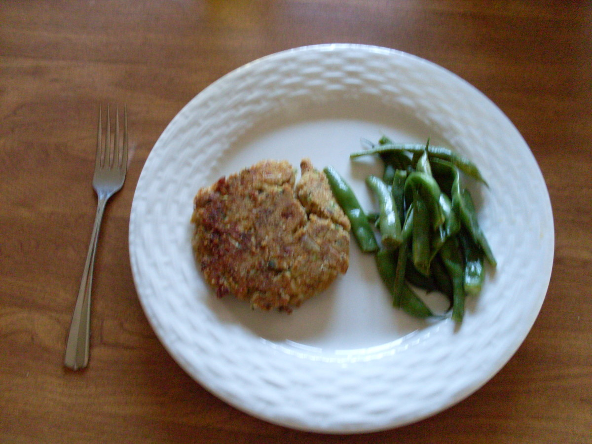 Healthy Tuna Zucchini Patties