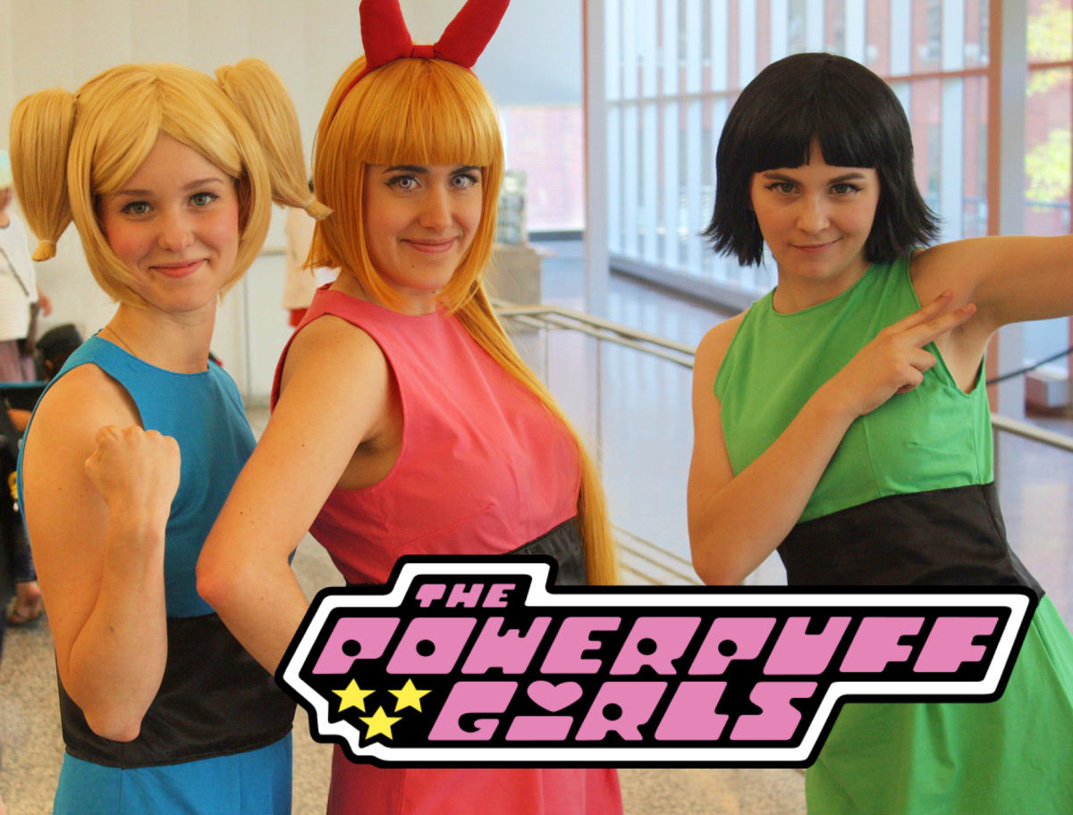 The Powerpuff Girls Homemade Costume and Makeup Ideas