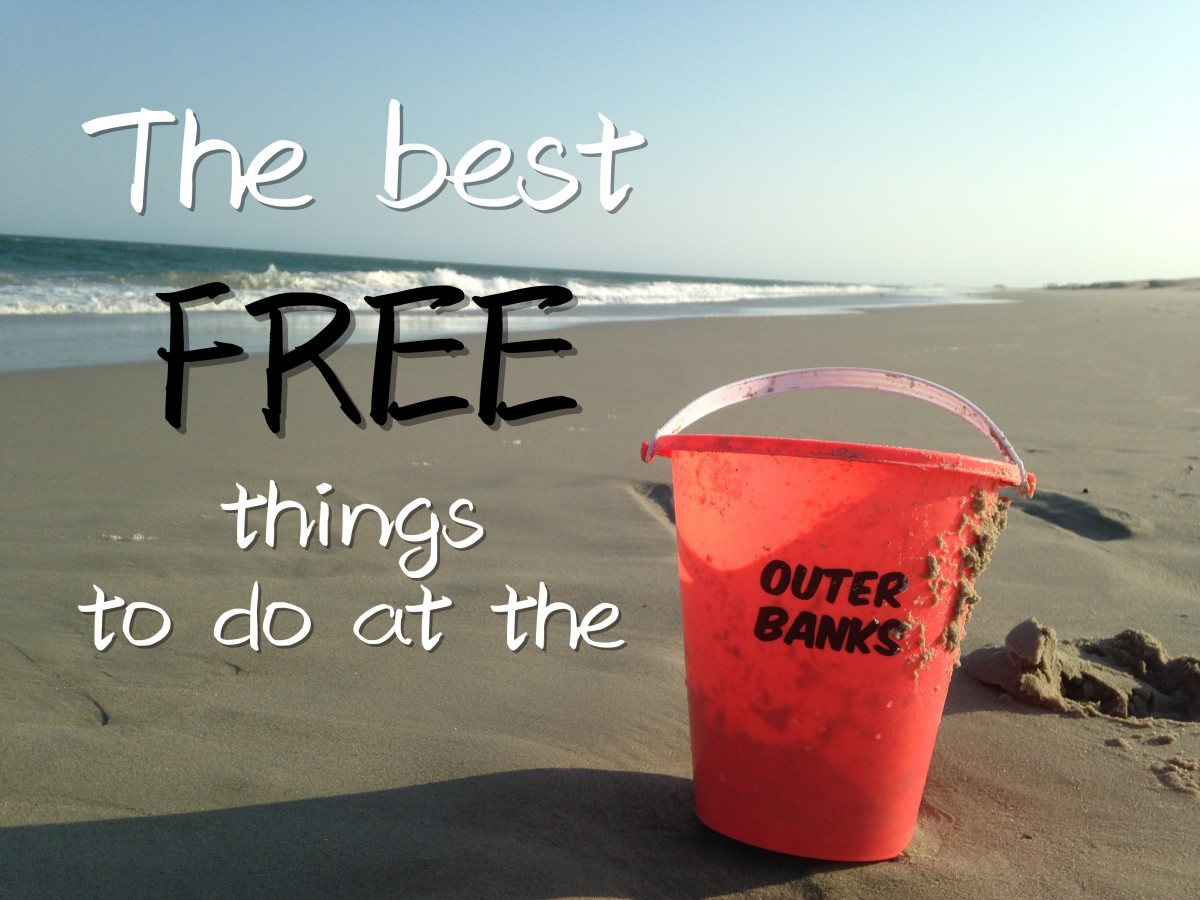 Not everything in the Outer Banks costs money.  Check out this list of fun and free things to do on your next OBX beach vacation.