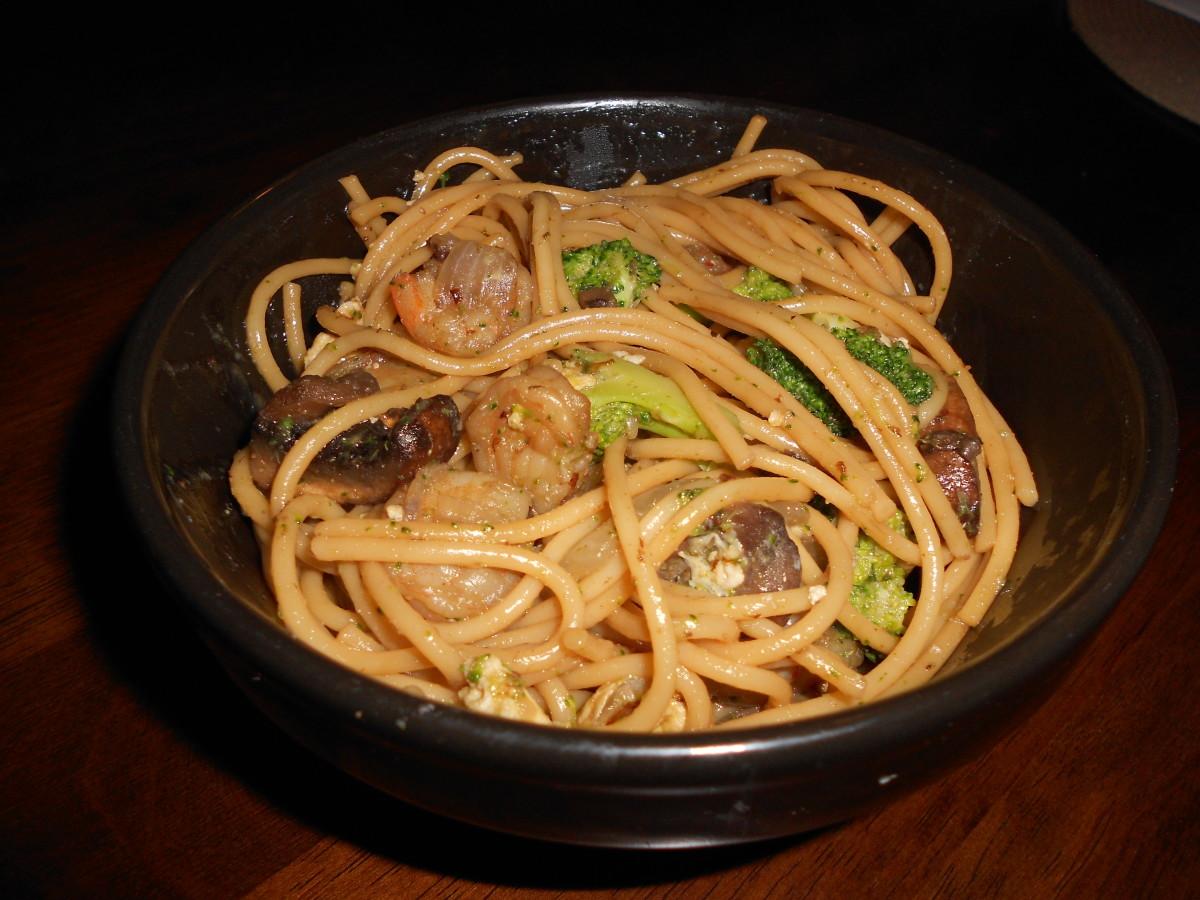 Restaurant-Style Shrimp Lo Mein Recipe