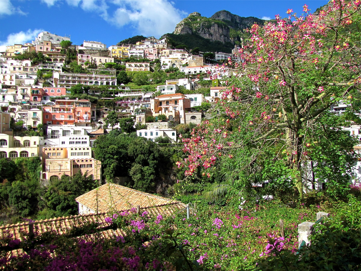 Colorful Positano