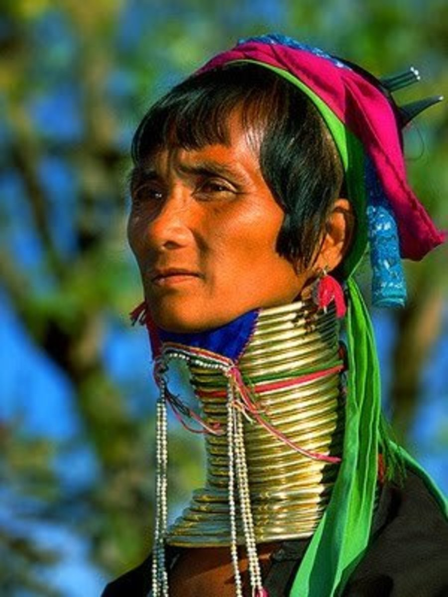 The Padaung or Long Neck Tribe