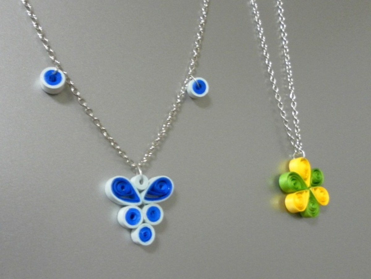 How to make quilling jewellery waterproof