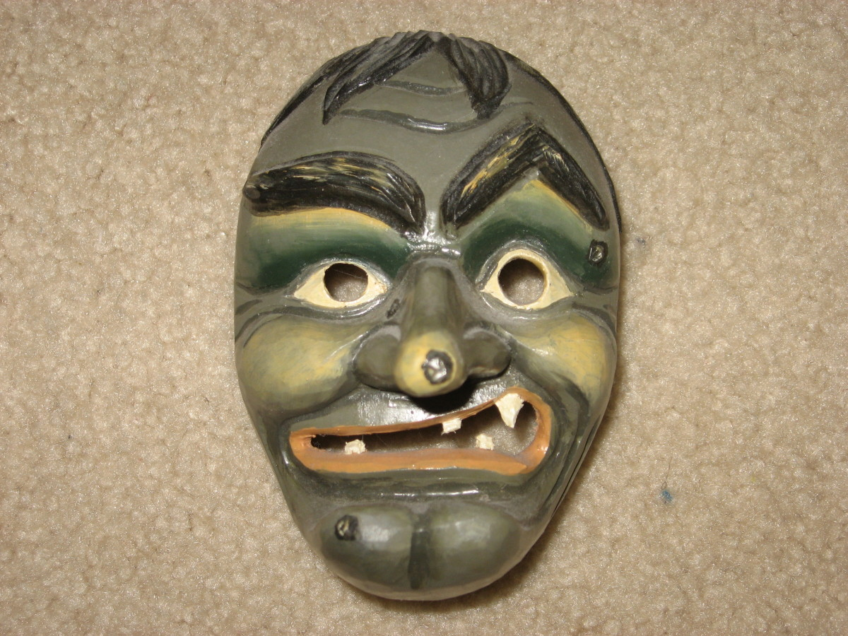 Fasching Mask