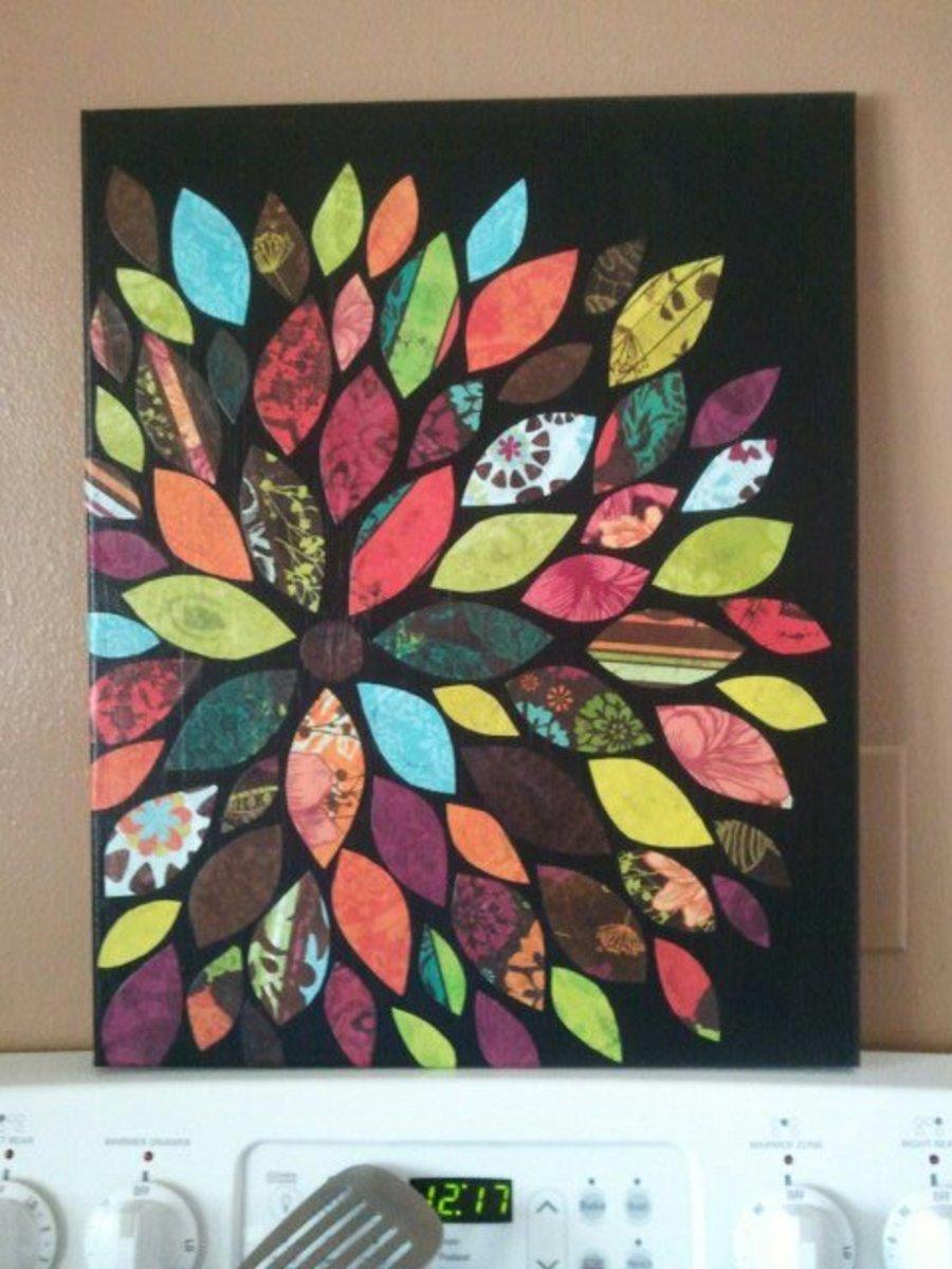 20 DIY Home Décor Ideas using Decorative Paper