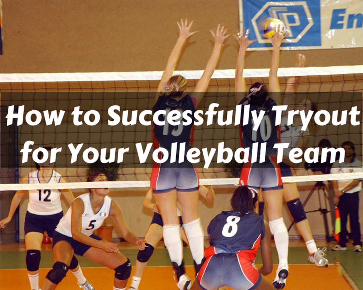How to ace volleyball tryouts and make the team.