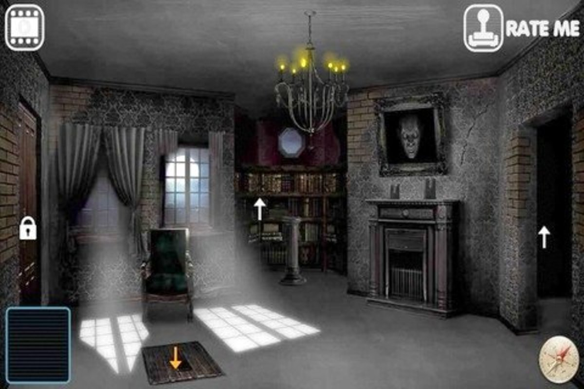 Scary iPhone Game: The House of Horror
