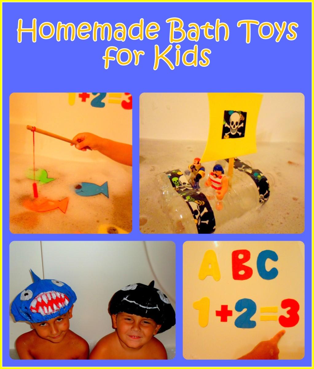 How to Make Homemade Bath Toys for Kids | WeHaveKids