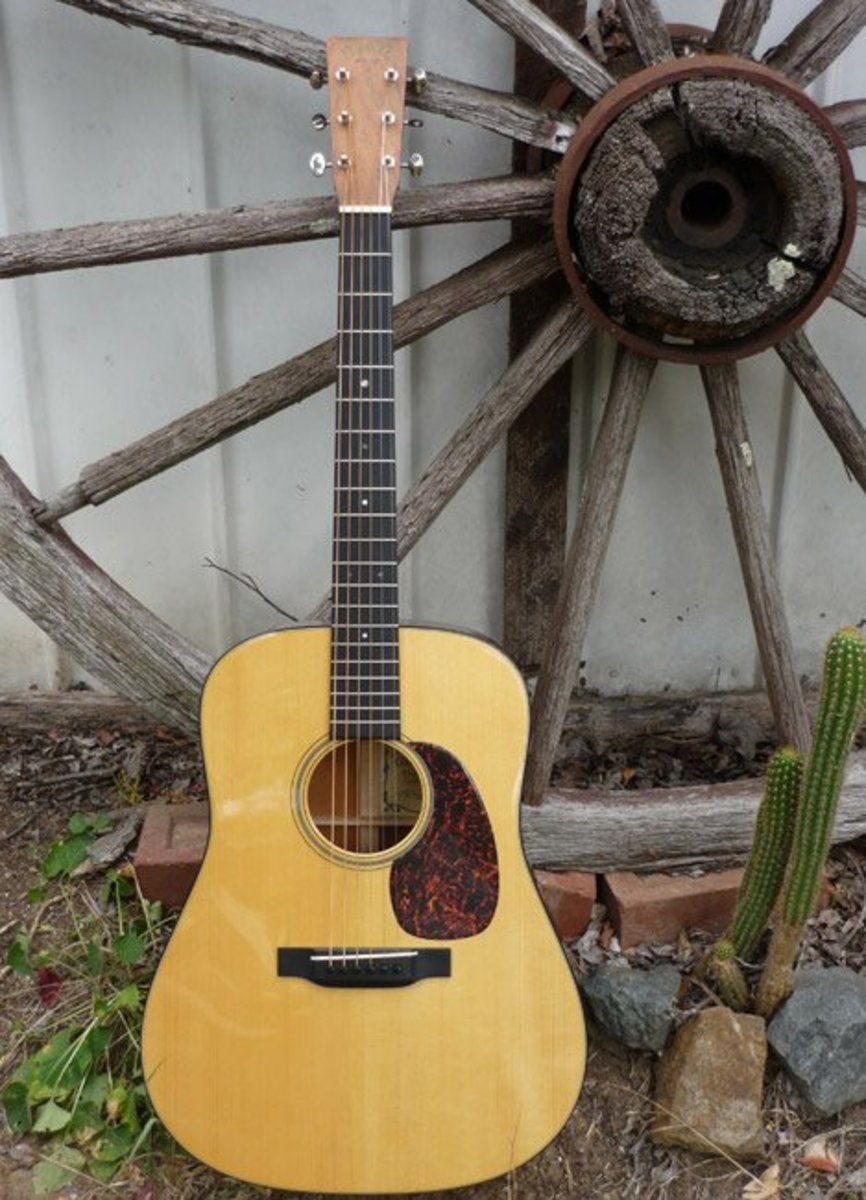 If you notice proportion very well, then you should notice the slightly wider neck of the D-18 Golden Era guitar.