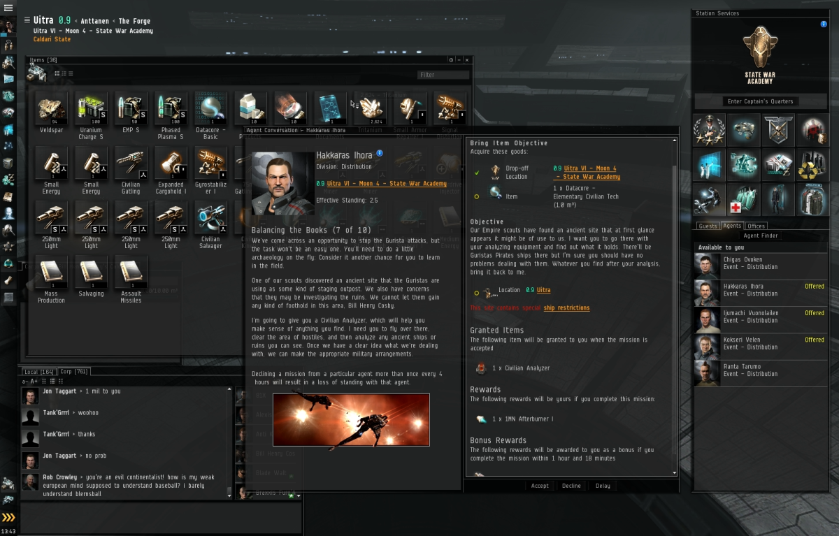 Balancing the Books (7 of 10) - Eve Online Mission Guide