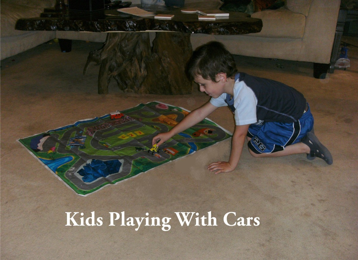 Do you have kids that love playing with cars?  Read on...