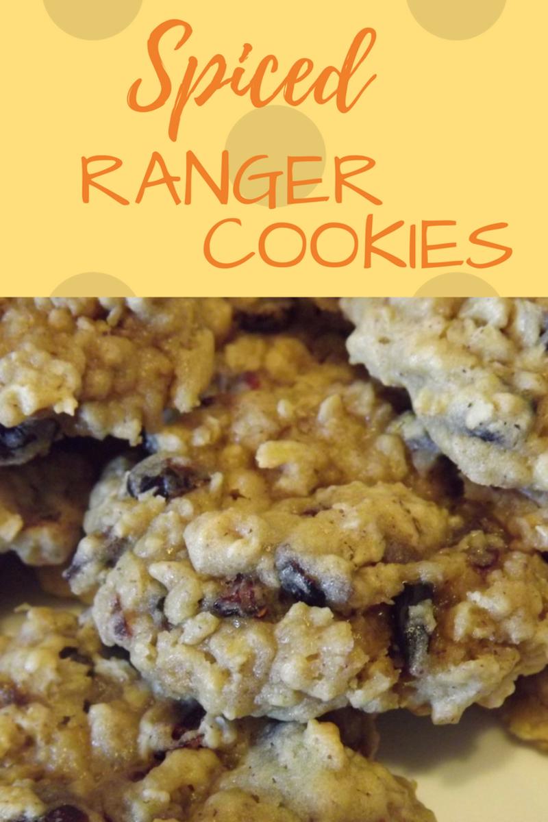 Spiced Ranger Cookies