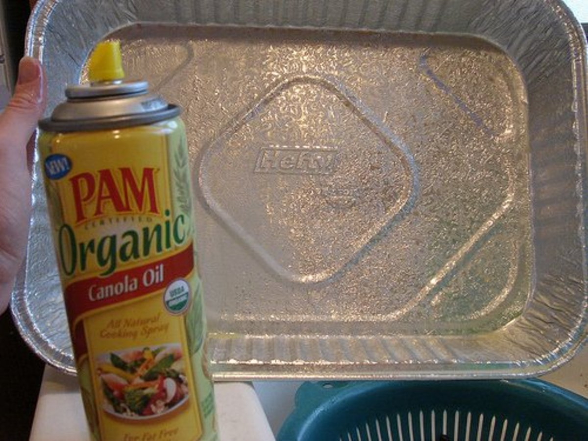 Replace your cooking sprays with homemade recipe for cooking spray.