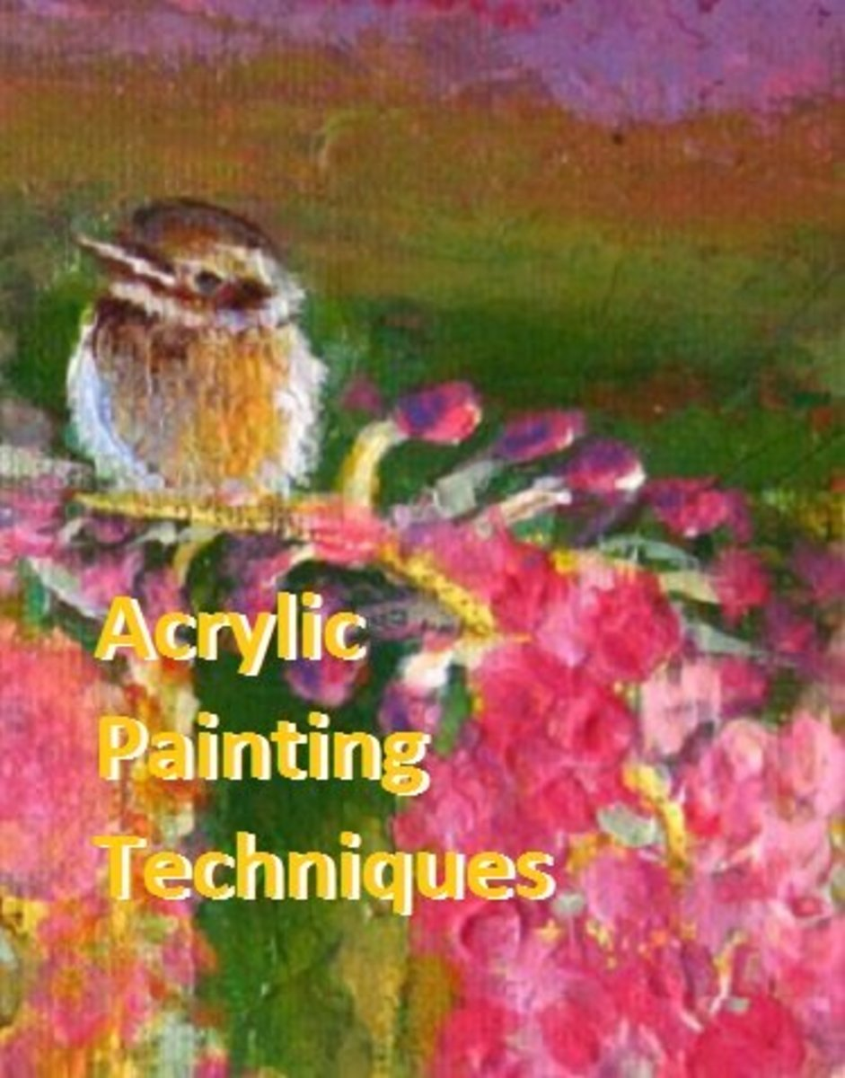 6 Common Acrylic Painting Techniques