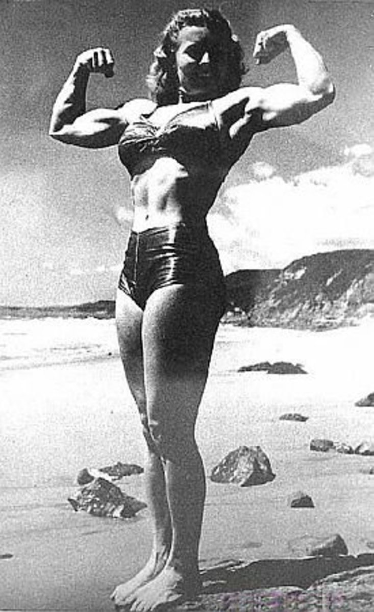 Women Bodybuilders. The First Ms. Olympia, Rachel Mclish
