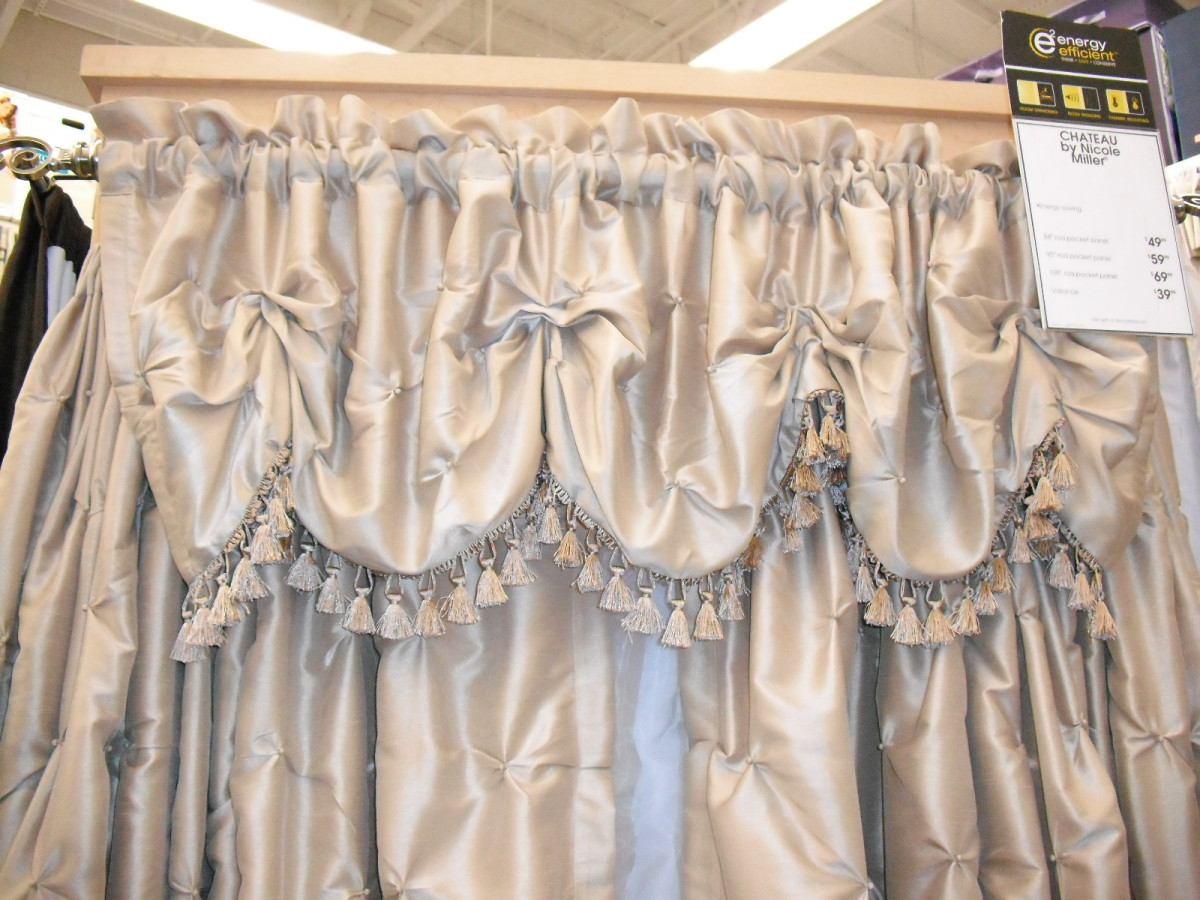Save yourself a trip back to the store by measuring to get the right size curtains.