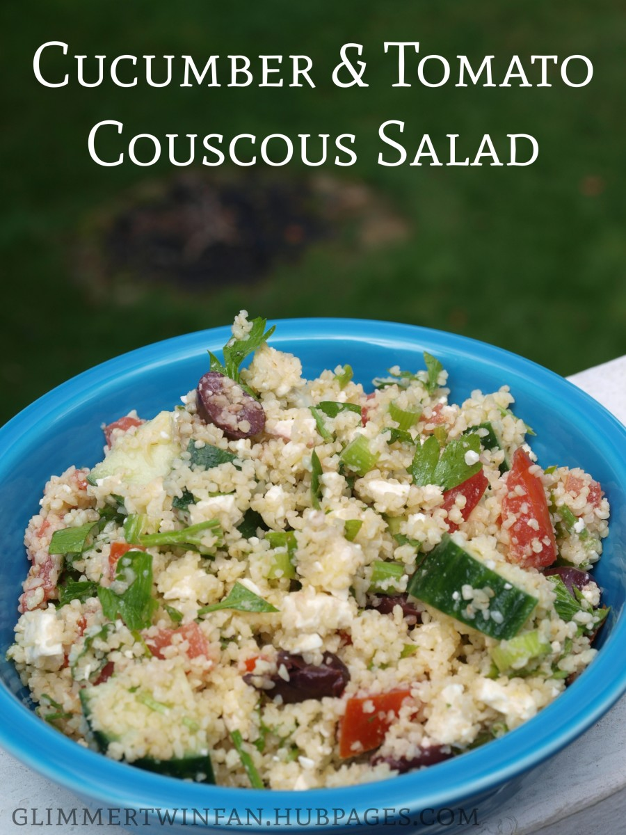 Cucumber and Tomato Couscous Recipe