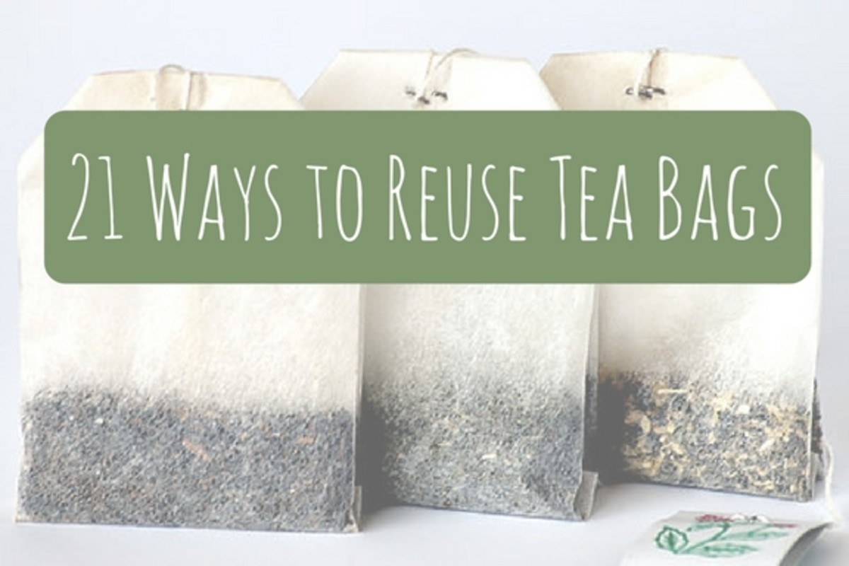 21 Creative Ways to Use Used Tea Bags