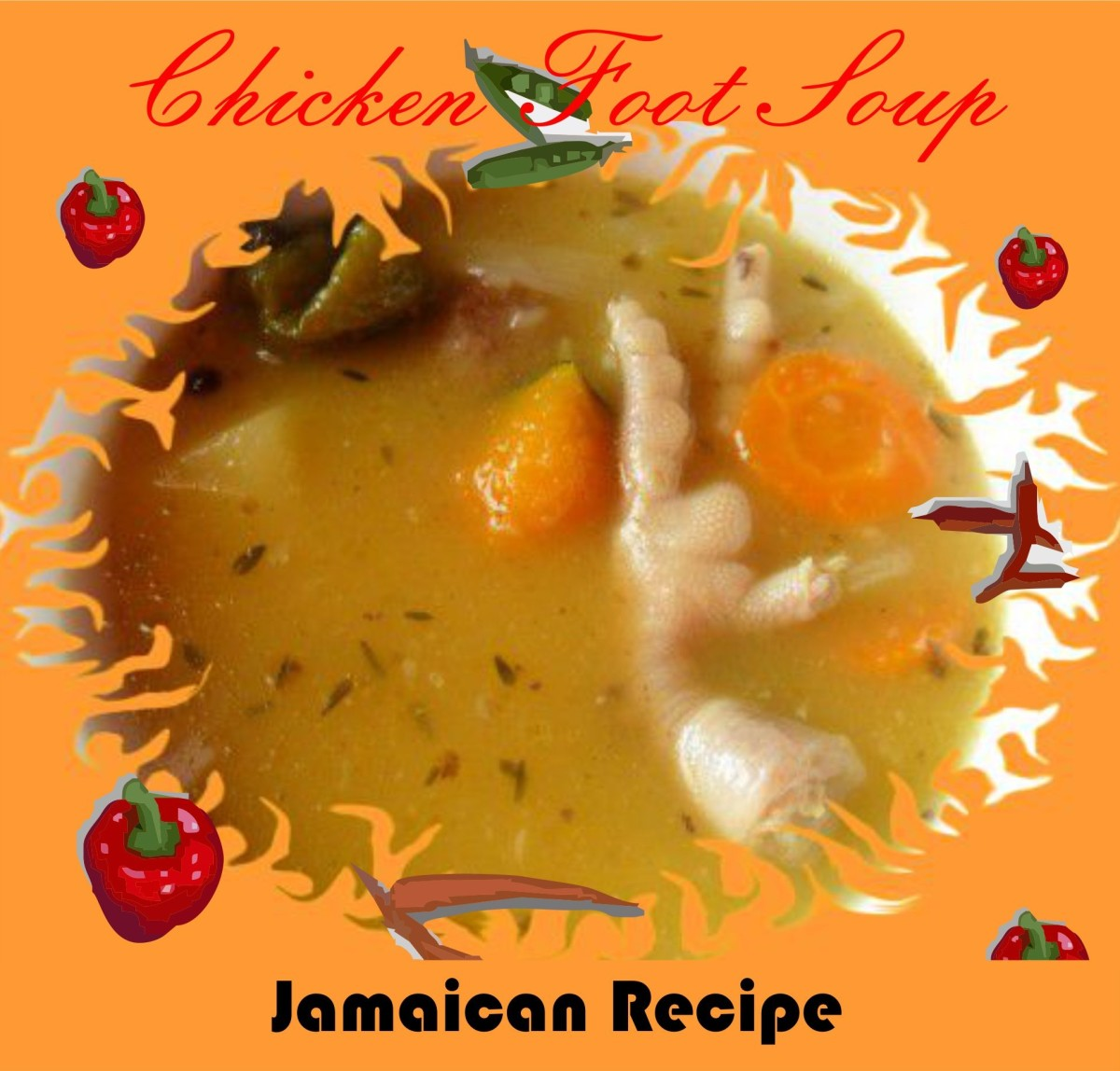 Chicken Feet Recipe | Jamaican Chick'n 'Foot' Soup
