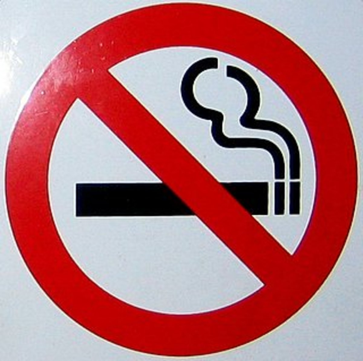Smoking is legal but not in certain places.