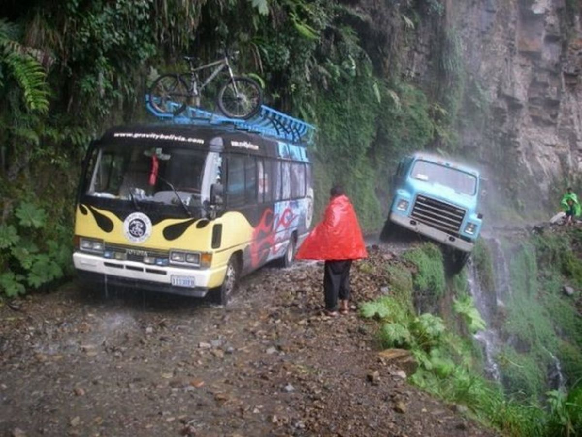 The 15 Scariest and Most Dangerous Roads in the World