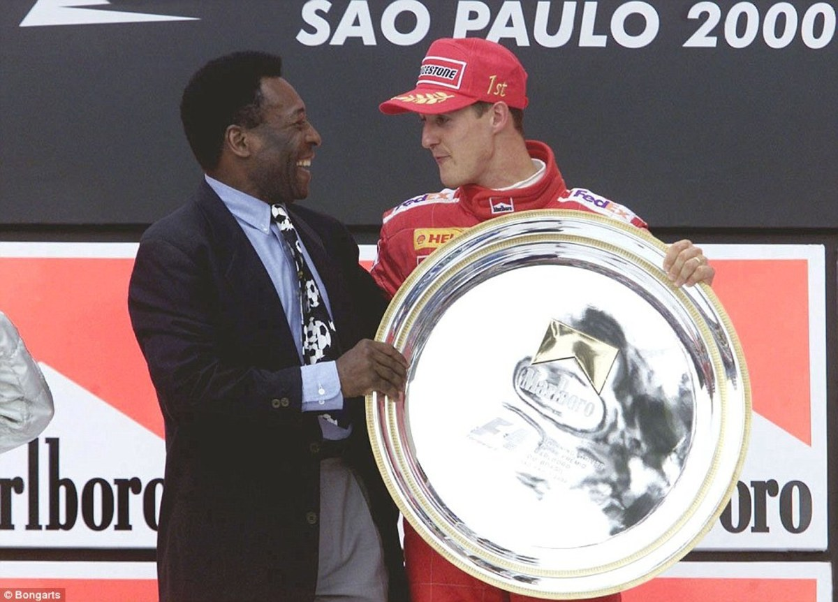 The 2000 Brazilian GP: Michael Schumacher's 37th Career Win