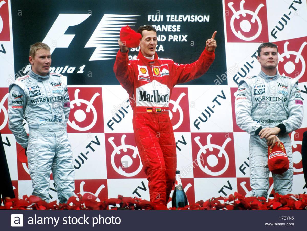 The 2000 San Marino GP: Michael Schumacher's 38th Career Win