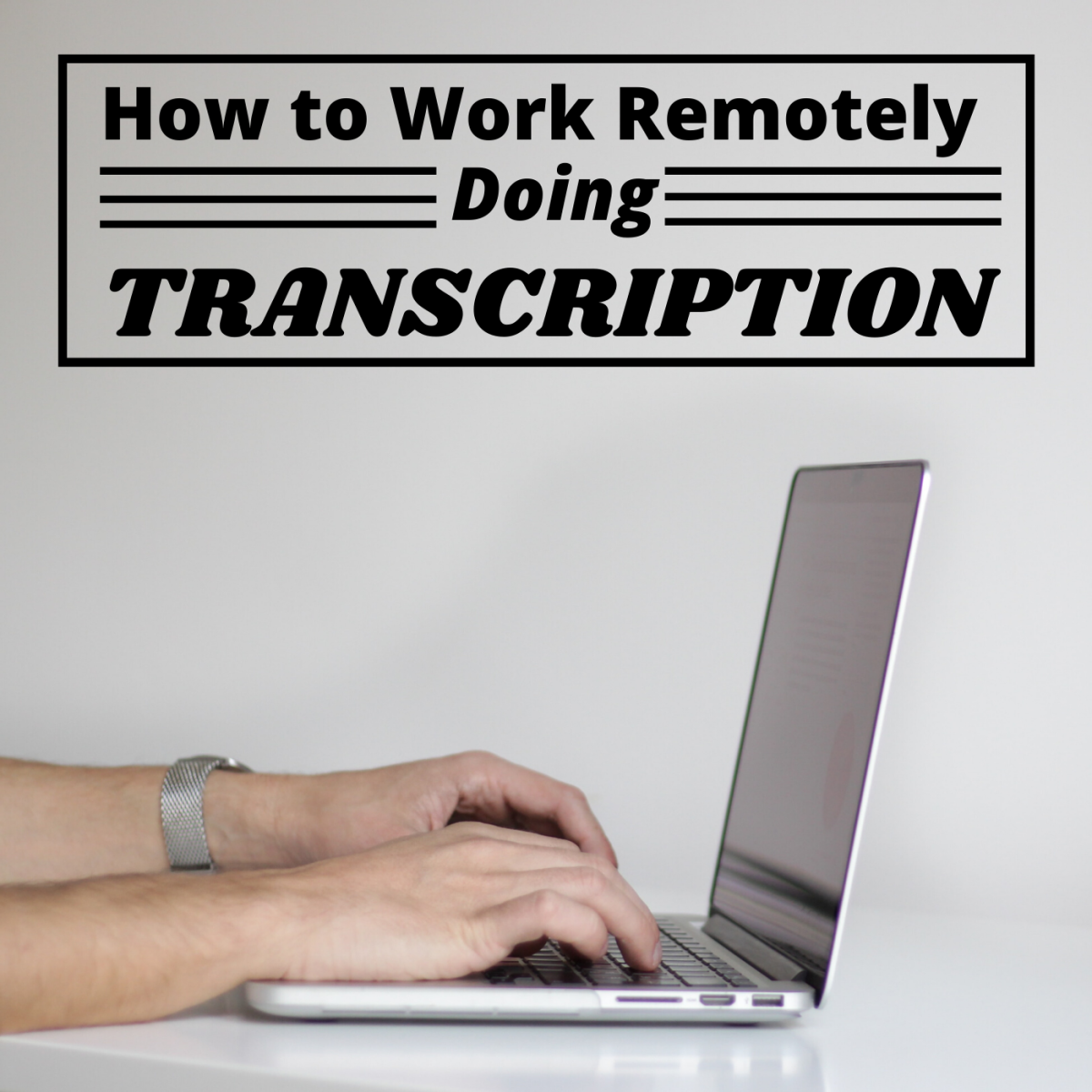 You can earn income from home on your own schedule by transcribing audio files for transcription companies online.