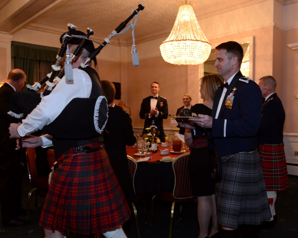 Formal Burns' Night Suppers on 25th January to Celebrate the Birth of Scotland's National Poet